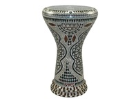 "Дарбука (Gawharet El Fan Darbuka) - Mother of Pearl Star 17"" New Generation"