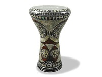"Дарбука (Gawharet El Fan Darbuka) - The Oval Castle17"" Mother of Pearl Darbuka"